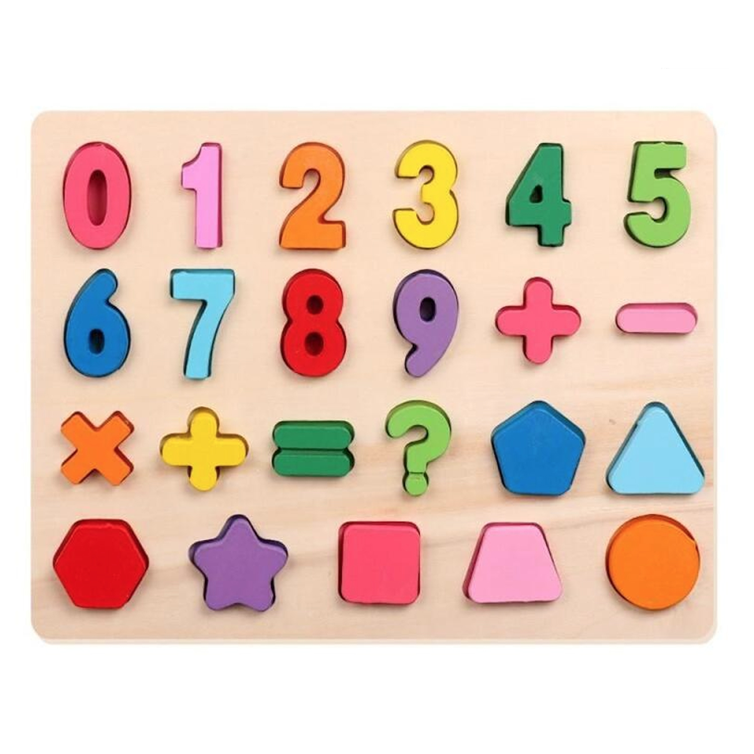 Numbers-Shapes