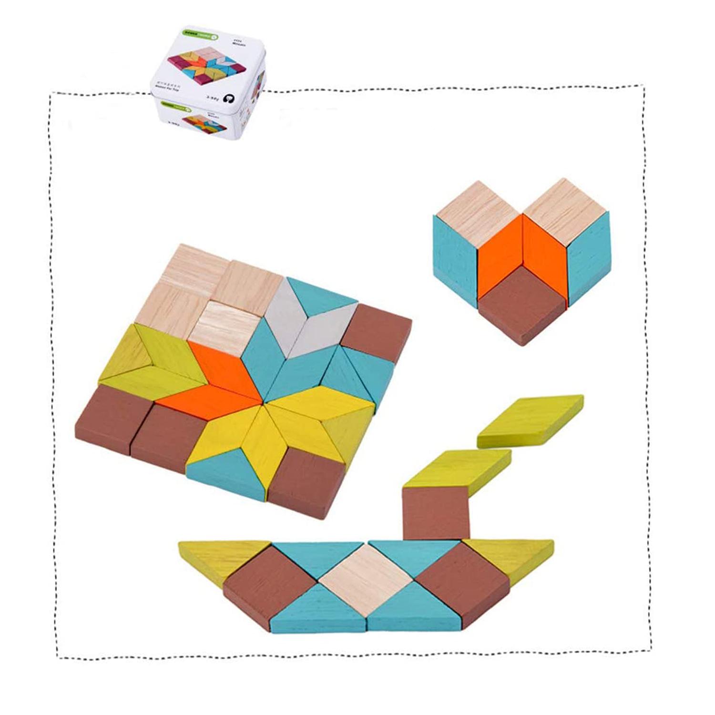 Mini Iron Box Mosaic