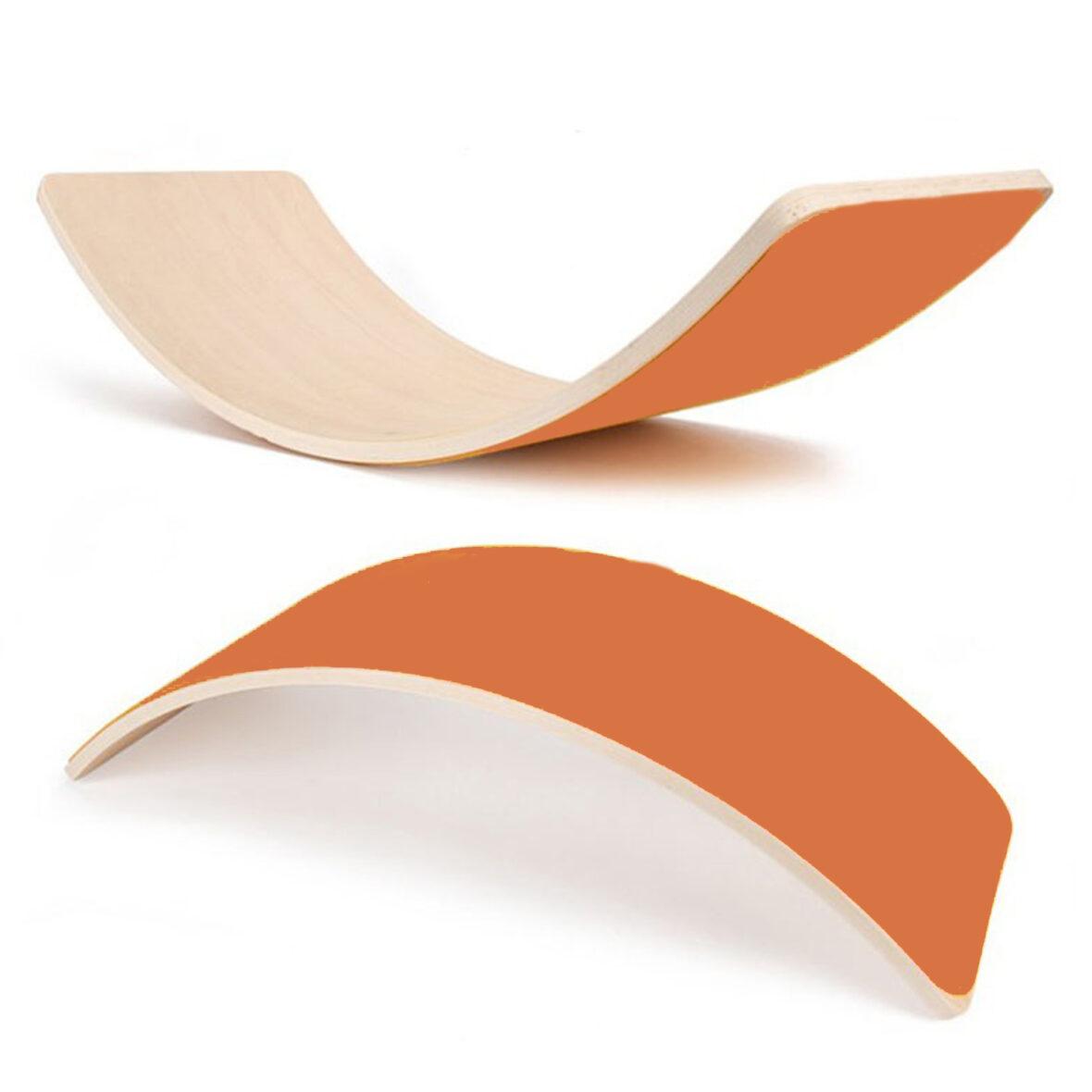 Wooden balance board-Orange