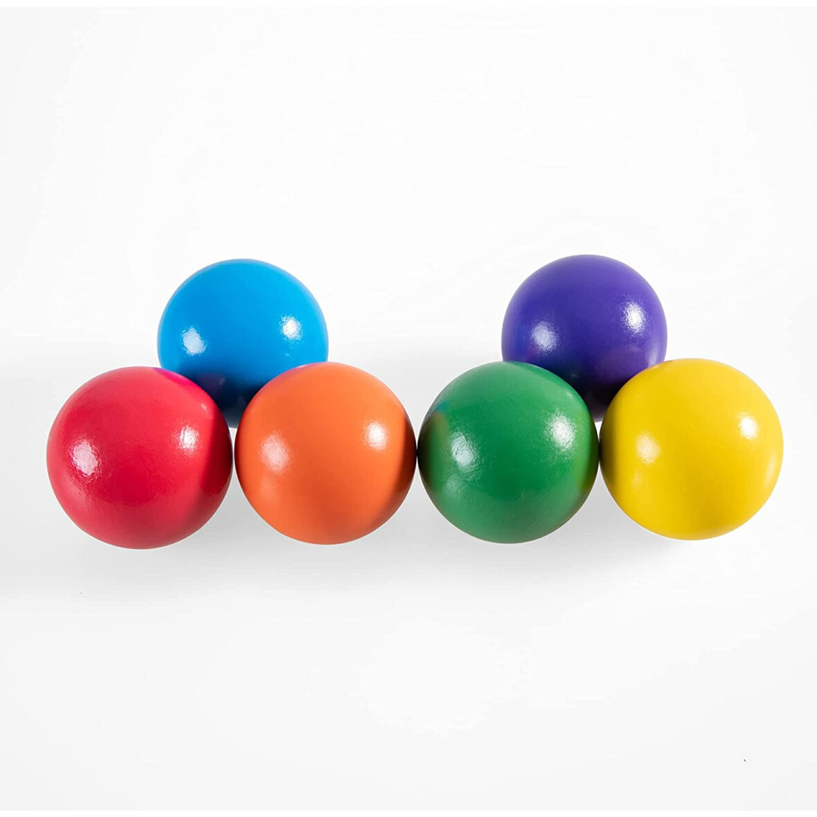 6 pcs Colorful Wooden Ball