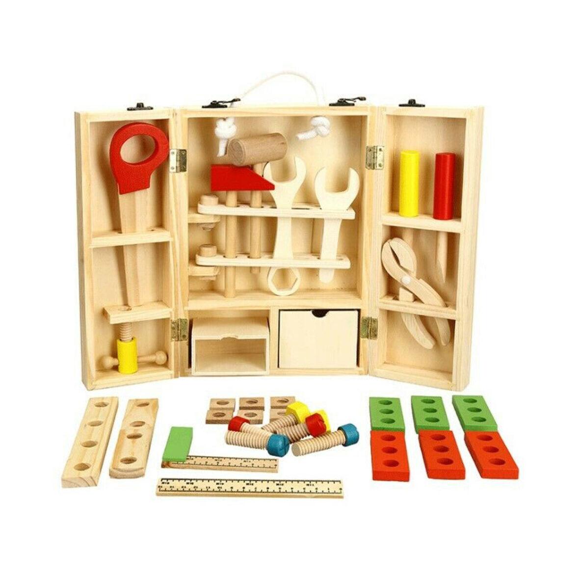 Wooden Creative Tool Box