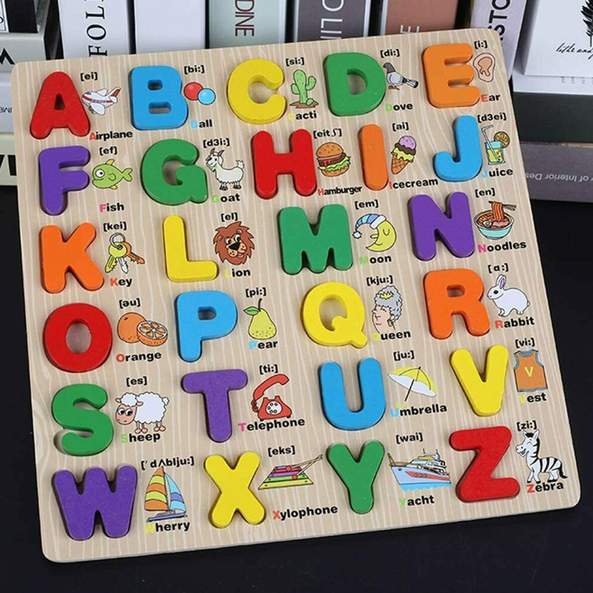 Learning Alphabet Letters 3D Jigsaw Puzzles